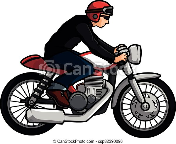 old motorcycle biker eps vectors search clip art illustration rh canstockphoto com harley motorcycle clipart free goldwing motorcycle clipart free