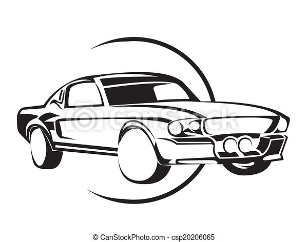 old muscle car clip art vector search drawings and graphics images rh canstockphoto com  muscle car clipart vector