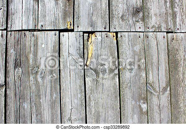 old natural wood textures - csp33289892