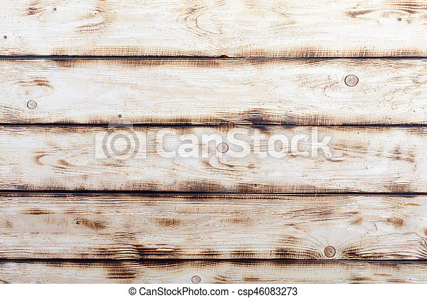 Old natural wooden background - csp46083273