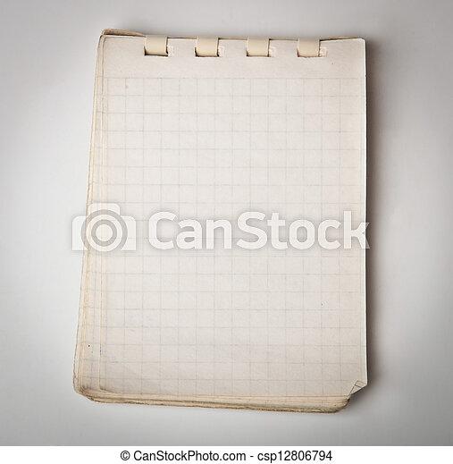 old notebook - csp12806794