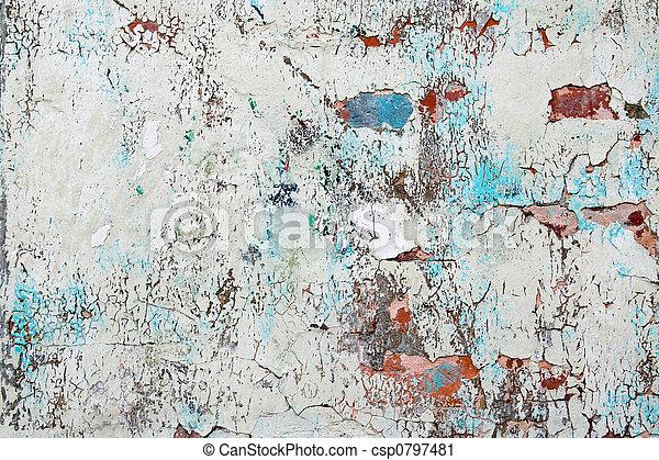 Old Paint Texture - csp0797481