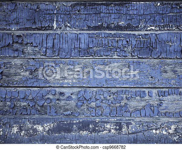 old painted wood texture - csp9668782