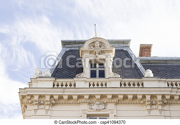 Old Palace in the historical center of Lviv - csp41094370