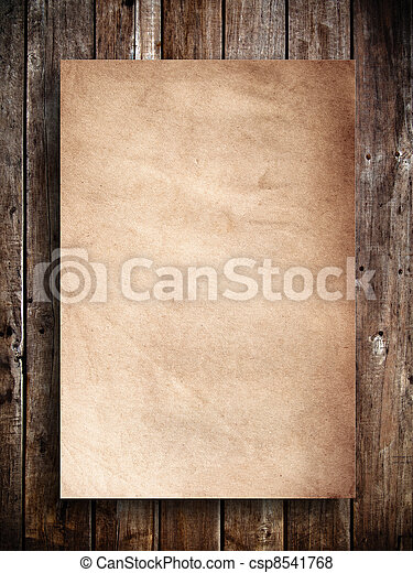 Old panel wood 2 - csp8541768