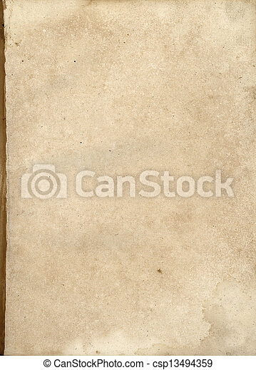 Old paper background - csp13494359