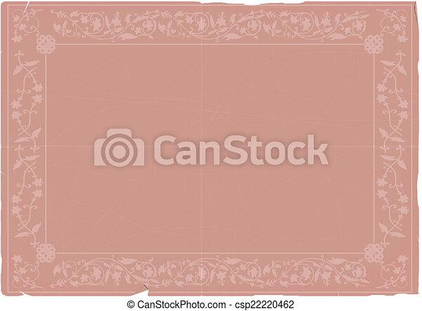 Old paper - csp22220462