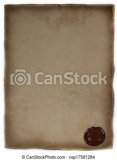 old paper - csp17581284