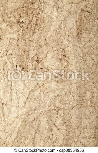 Old paper - csp38354956