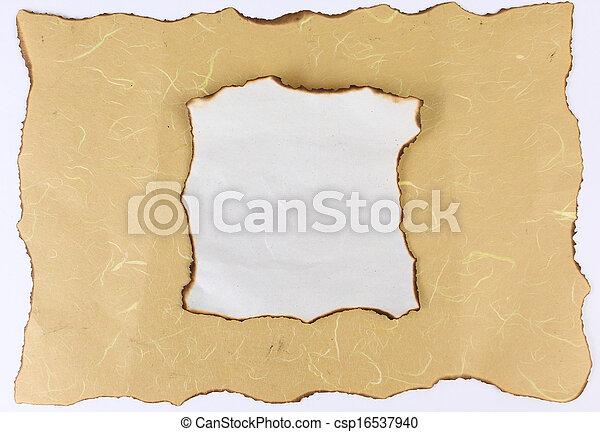 Old paper  - csp16537940