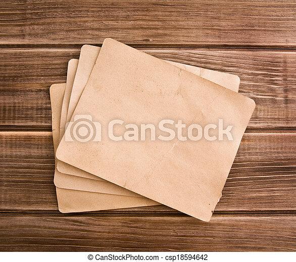 old paper - csp18594642