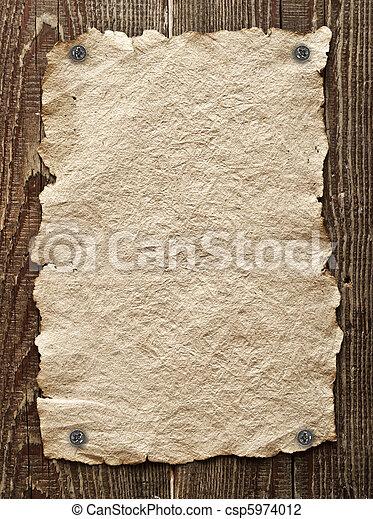 Old paper  - csp5974012