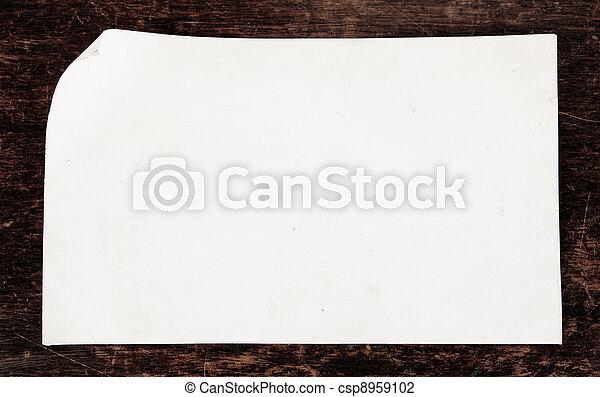 Old paper - csp8959102