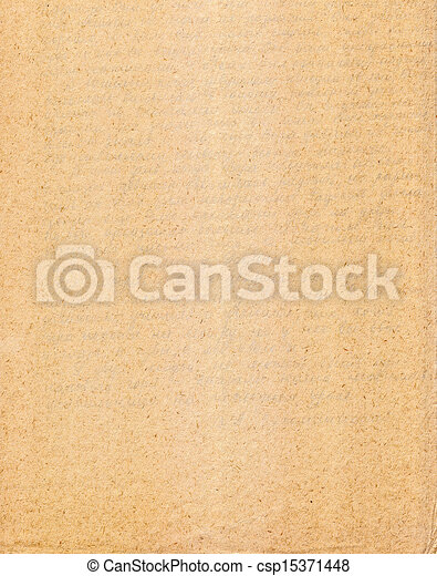 Old Paper Texture, Background - csp15371448