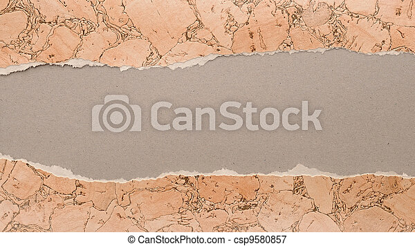 Old paper texture with space for text or image  - csp9580857