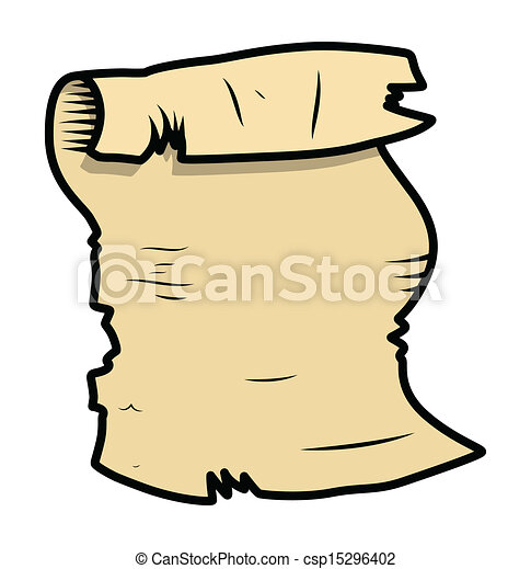 old parchment cartoon illustration drawing art of old vector rh canstockphoto com parchment paper clipart parchment clipart free