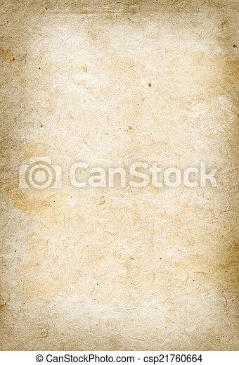 Old parchment paper texture - csp21760664