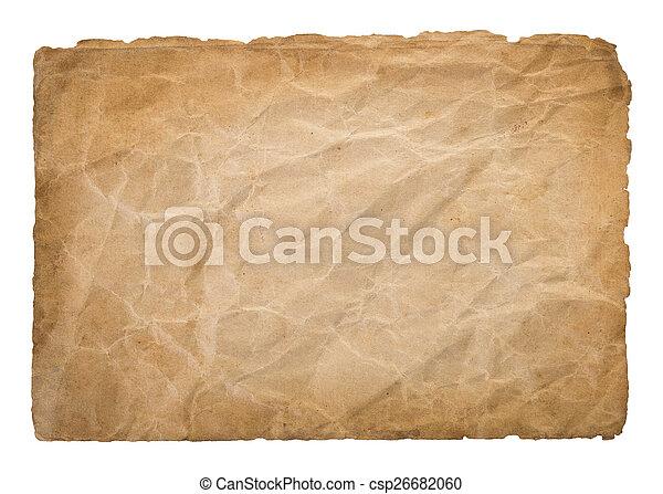 Old parchment - csp26682060