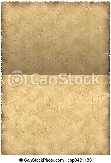 old parchment - csp0421183