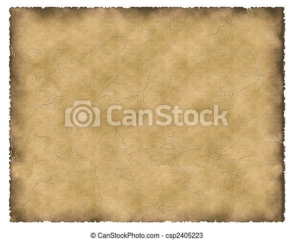 old parchment - csp2405223
