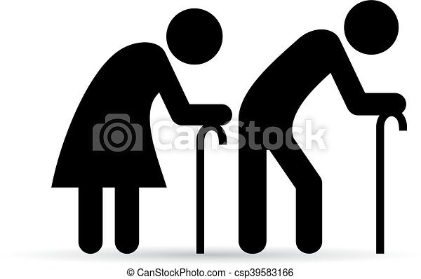 old people icons isolated on white background clip art vector rh canstockphoto com funny old people clip art old people clip art black and white
