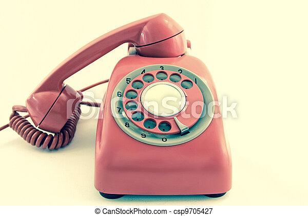 old phone - csp9705427