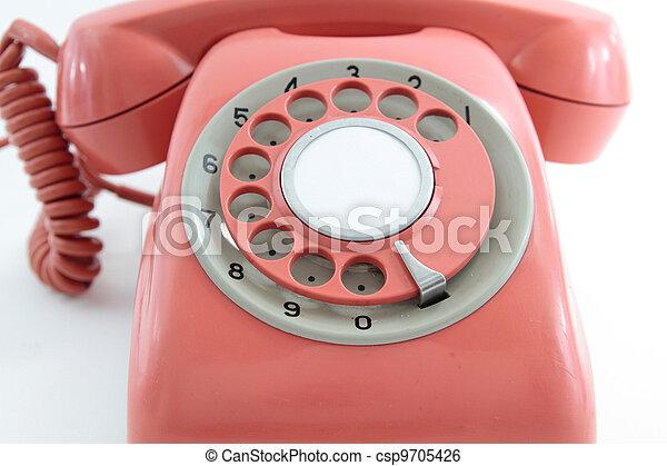 old phone - csp9705426