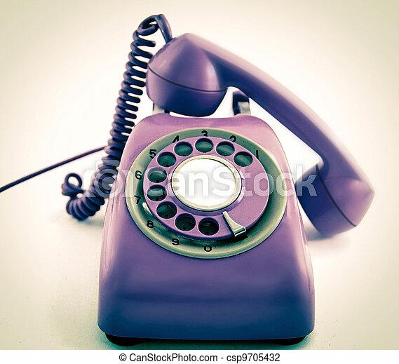 old phone - csp9705432
