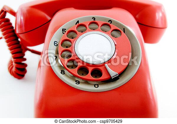 old phone - csp9705429