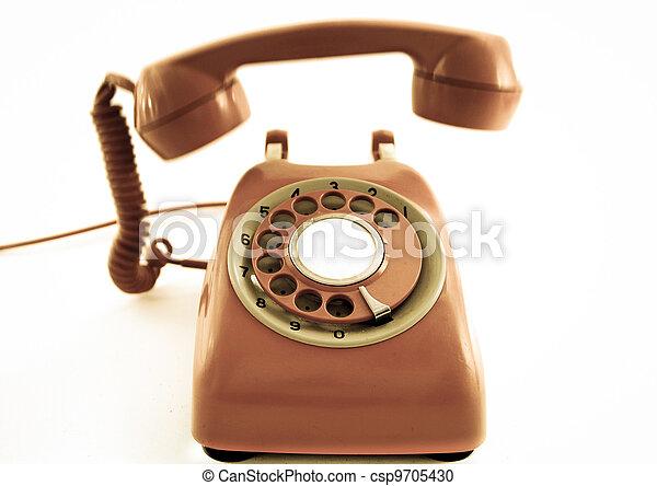 old phone - csp9705430