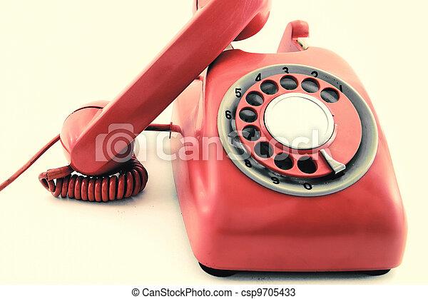 old phone - csp9705433