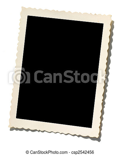 Old Photo border - csp2542456