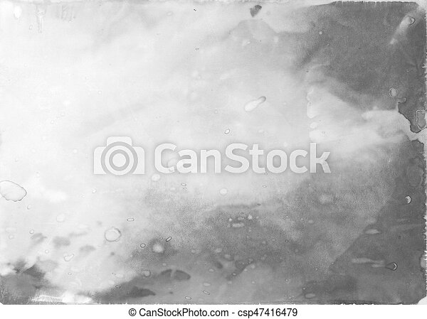 Old photographic paper - csp47416479