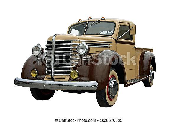 Old Pickup - csp0570585