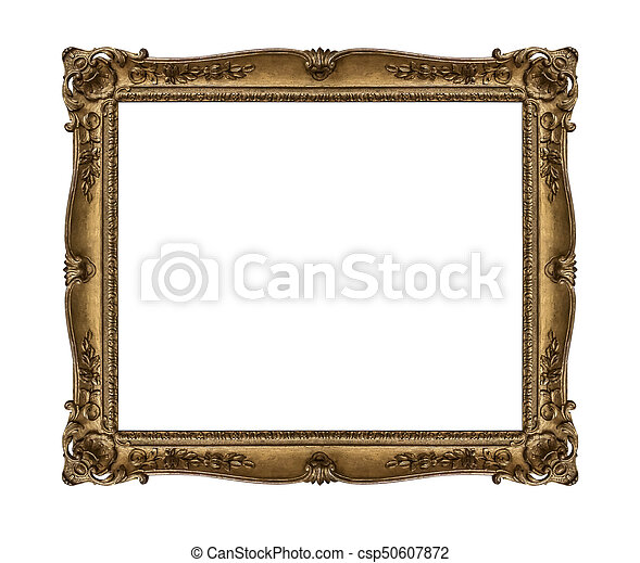 Old picture frame. - csp50607872