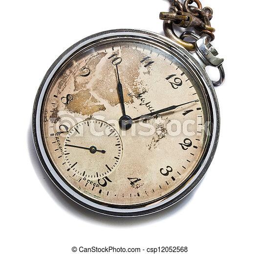 old pocket watch - csp12052568