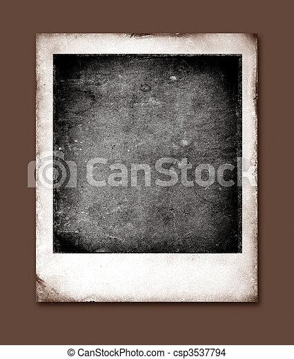 old polaroids film for background 2d art