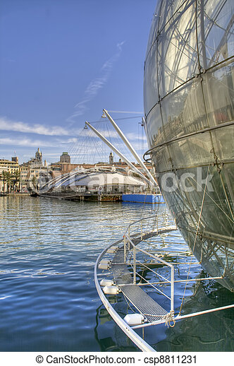 Old Port Genoa - csp8811231