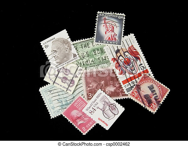 Old Postage 1 - csp0002462