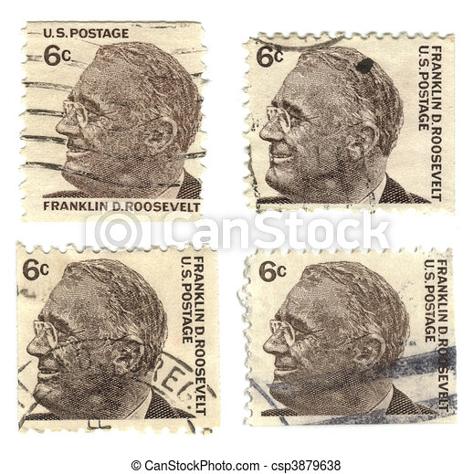 Old Postage Stamps From USA 6 Cent
