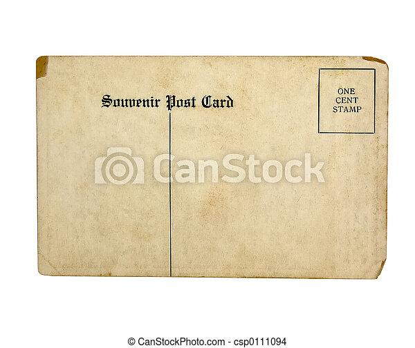 Old Postcard - csp0111094