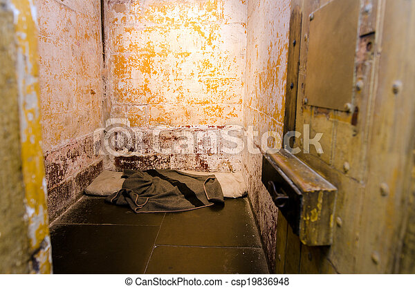 Old prison cell - csp19836948