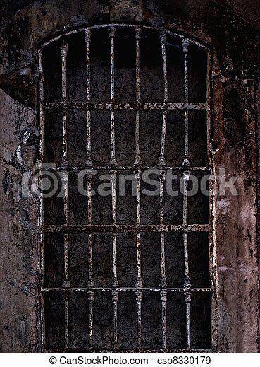 Old prison cell - csp8330179