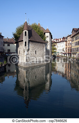 Old prison of Annecy - csp7846626