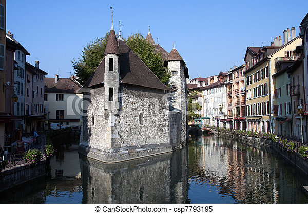 Old prison of Annecy - csp7793195