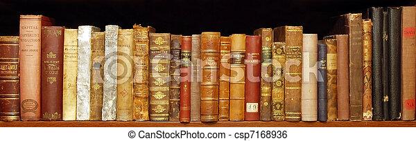 Old rare books - csp7168936