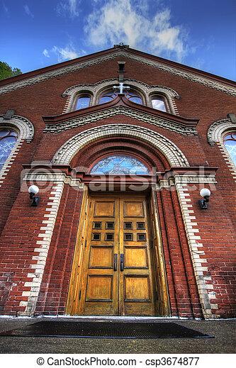 Old Roman Catholic Parish 2 - csp3674877