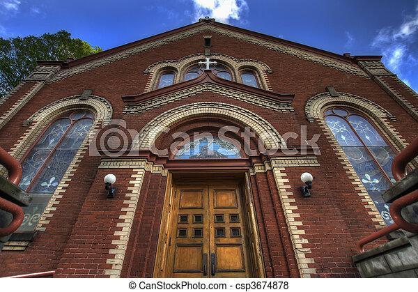 Old Roman Catholic Parish - csp3674878