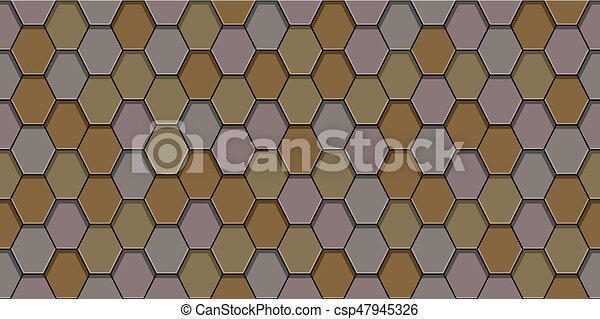 Old roof tiles - csp47945326