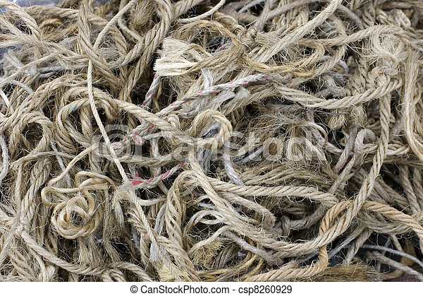 Old rope  - csp8260929